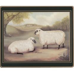 Lady Clare Naive Animals drinks coasters - Sheep image