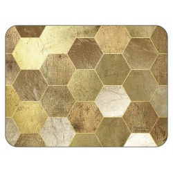 Plymouth Pottery Golden Repeat Placemats