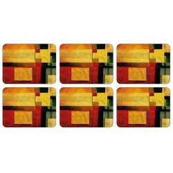 Plymouth Pottery Radiance set of 5 6 tablemats
