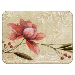 Plymouth Pottery Antique Bloom floral Placemats