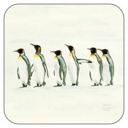 Plymouth Pottery Penguin Parade Coasters