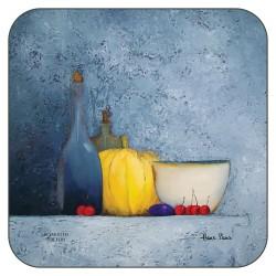 Plymouth Pottery Blue Harmony drinks Coasters