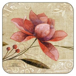 Plymouth Pottery Antique Bloom drinks Coasters