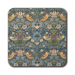 Castle Melamine William Morris Strawberry Thief Coasters