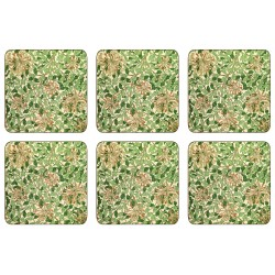 William Morris Honeysuckle Coaster