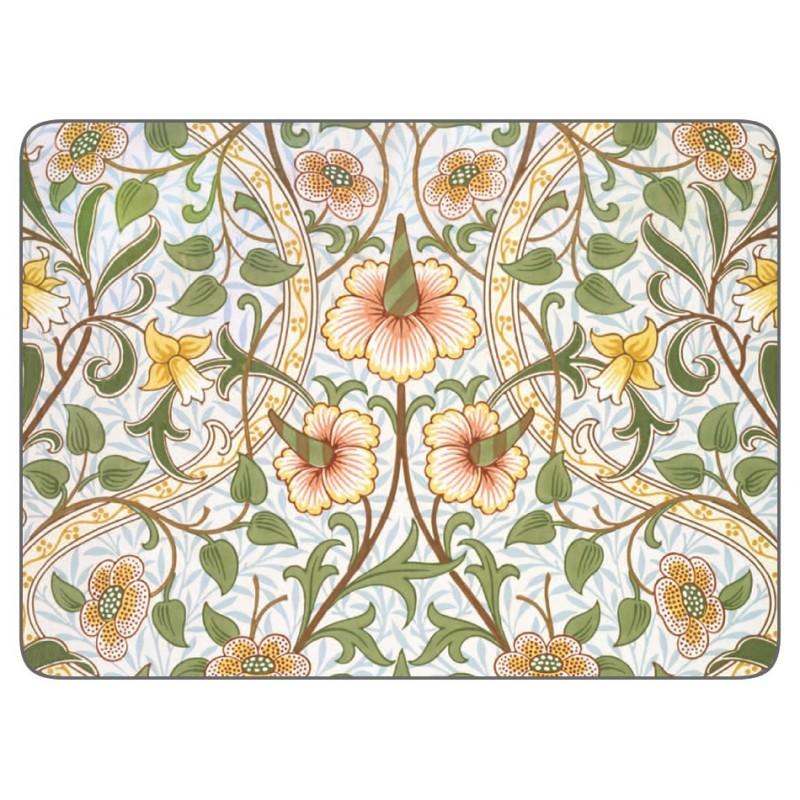 Castle Melamine William Morris Daffodil placemats