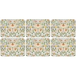 Castle Melamine William Morris Daffodil Tablemats