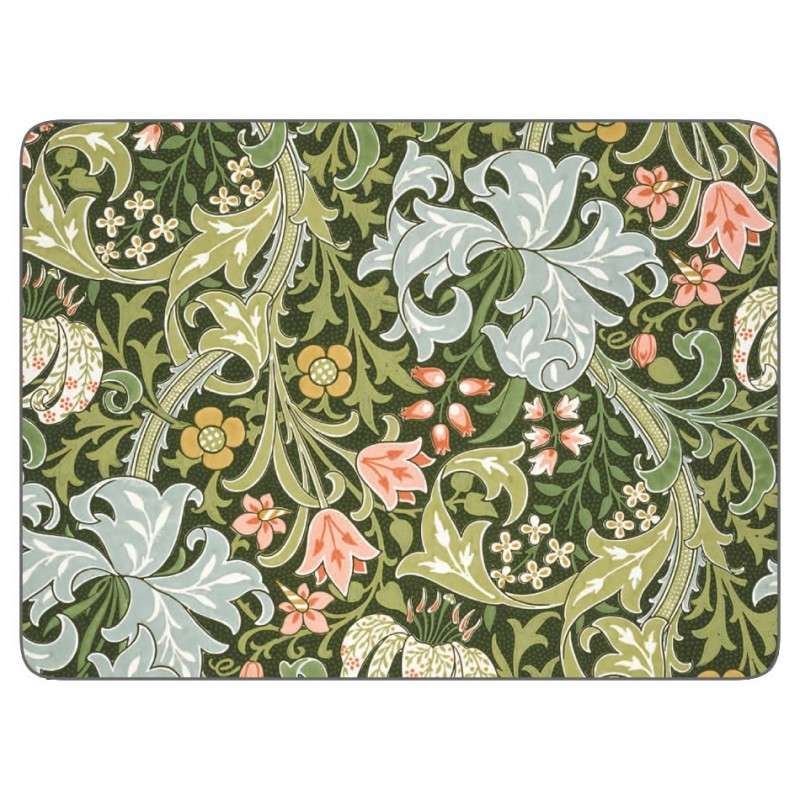 Castle Melamine William Morris Golden Lily placemats