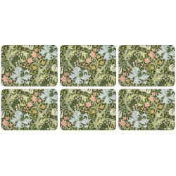 Castle Melamine William Morris Golden Lily Tablemats