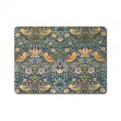 Castle Melamine Wm Morris Strawberry Thief Placemats