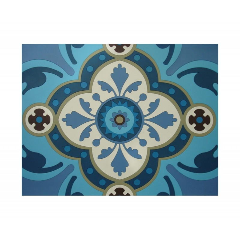 DOrient Sejjadeh Azur Silicone Placemats