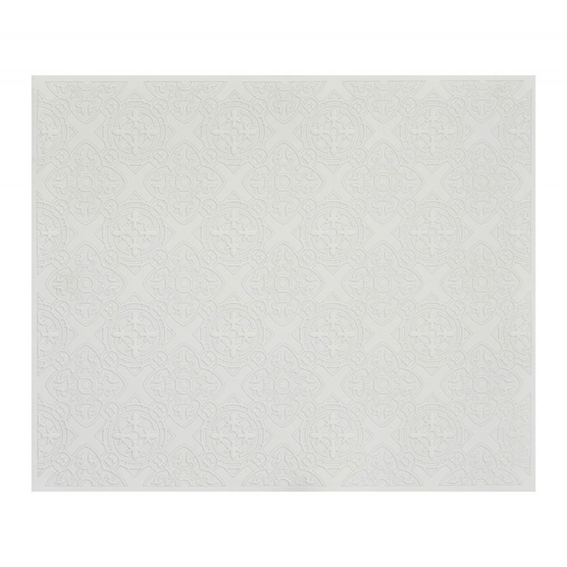 DOrient Crest White Silicone Placemats