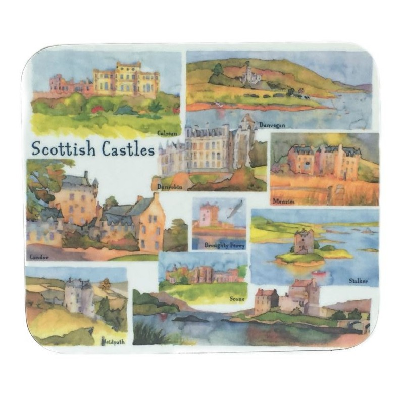 Emma Ball Scottish Castles coasters