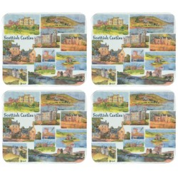 Emma Ball Scottish Castles Coaster