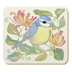 Emma Ball Birds and Honeysuckle coasters