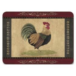 Jason Cottage Rooster coaster set