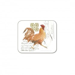 Jason Roosters coasters