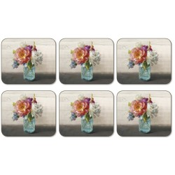 Jason French Cottage Bouquet Coaster