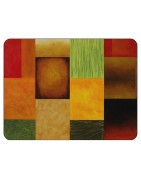 Plymouth Pottery Cork Backed Placemats, Modern
