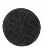 Round Shaped Coasters, Cork Backed, Slate and Silicone
