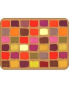 Funky Tablemats Modern Cork Backed Place Mats