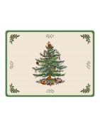 Festive Christmas Placemats, Xmas Holiday Designs